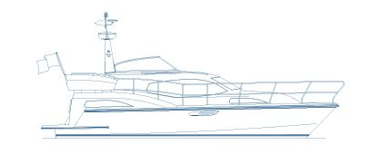haines 360 aft cabin illustration