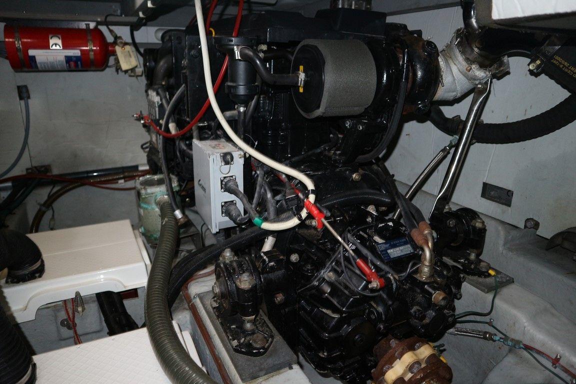 Twin Mercruiser diesels
