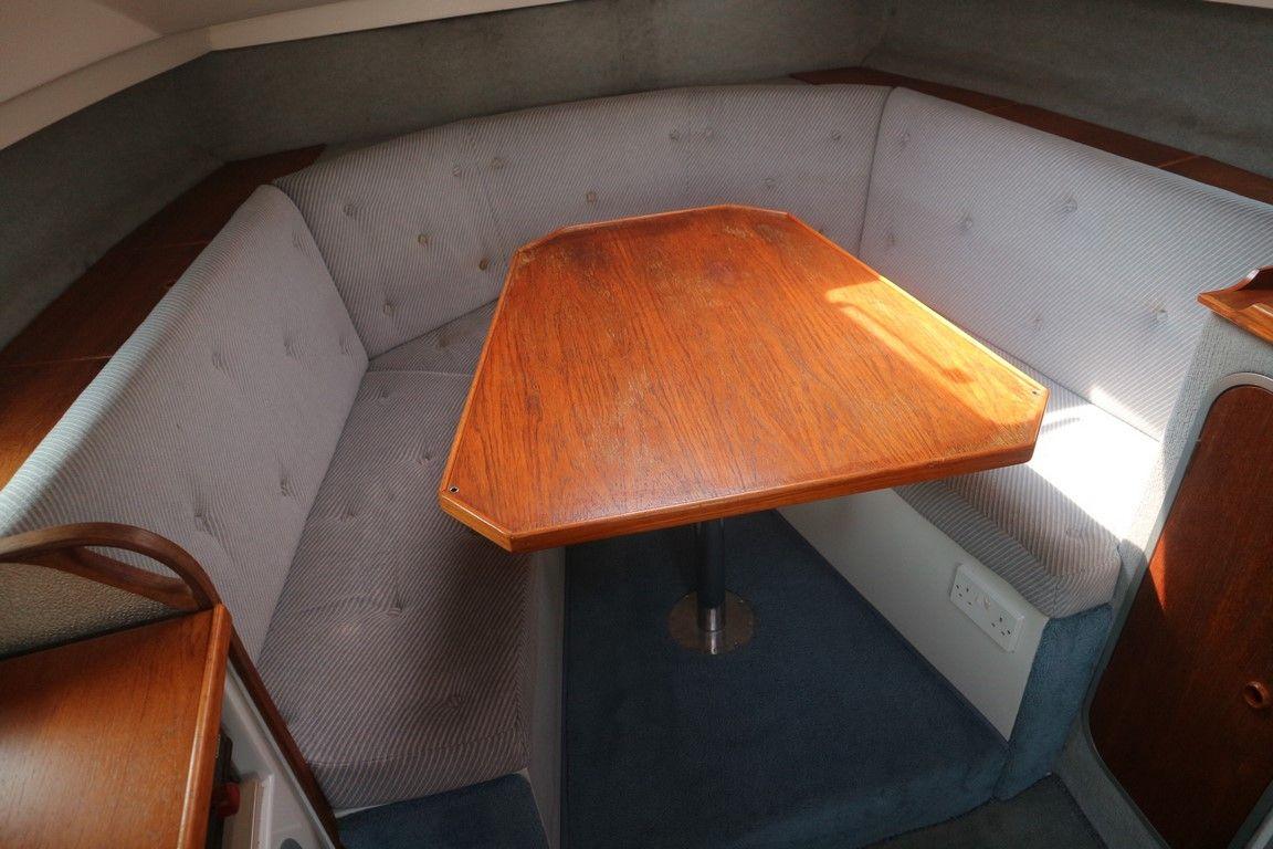 Saloon seating/second berth