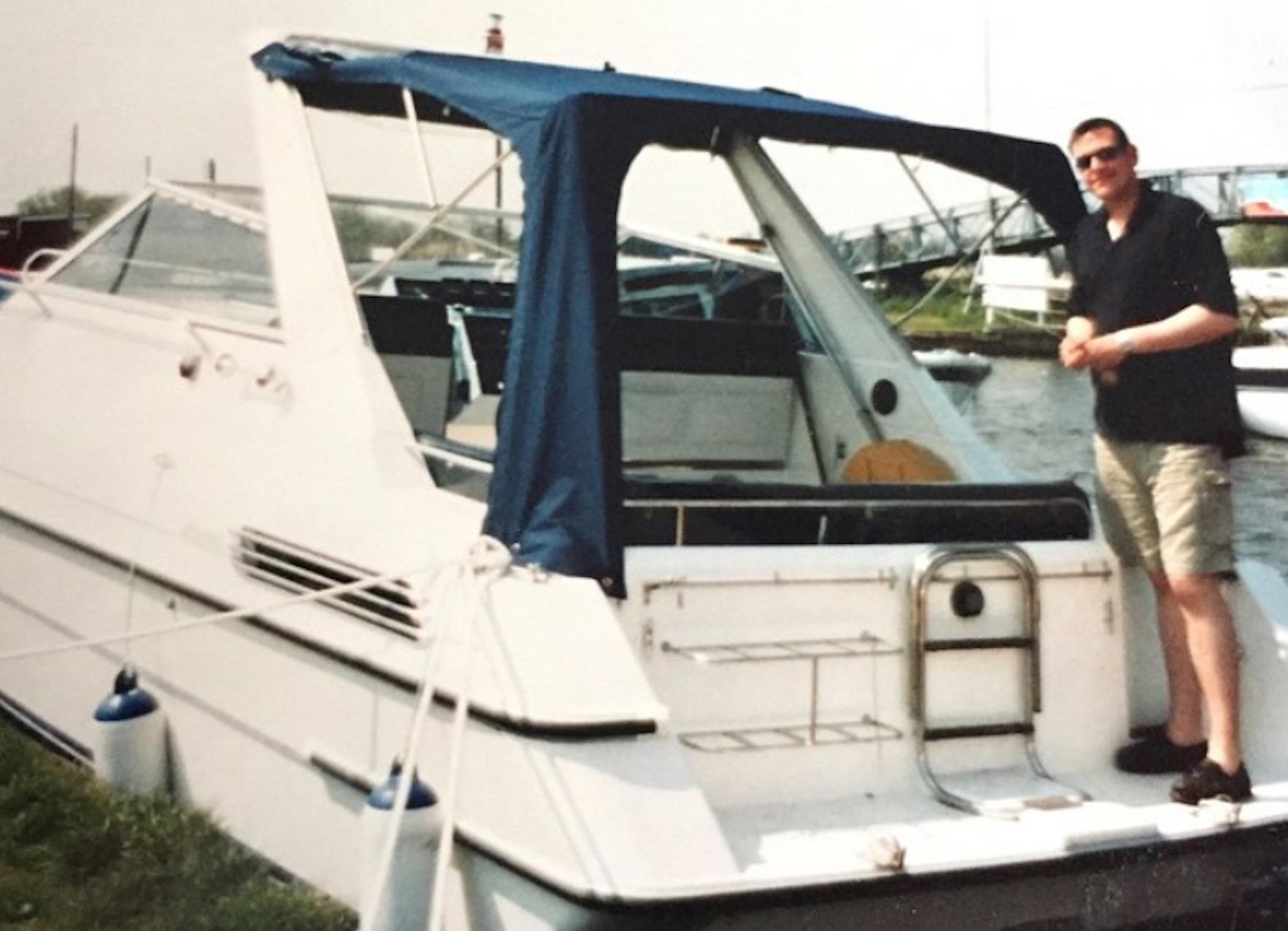 Falcon 27 first boat