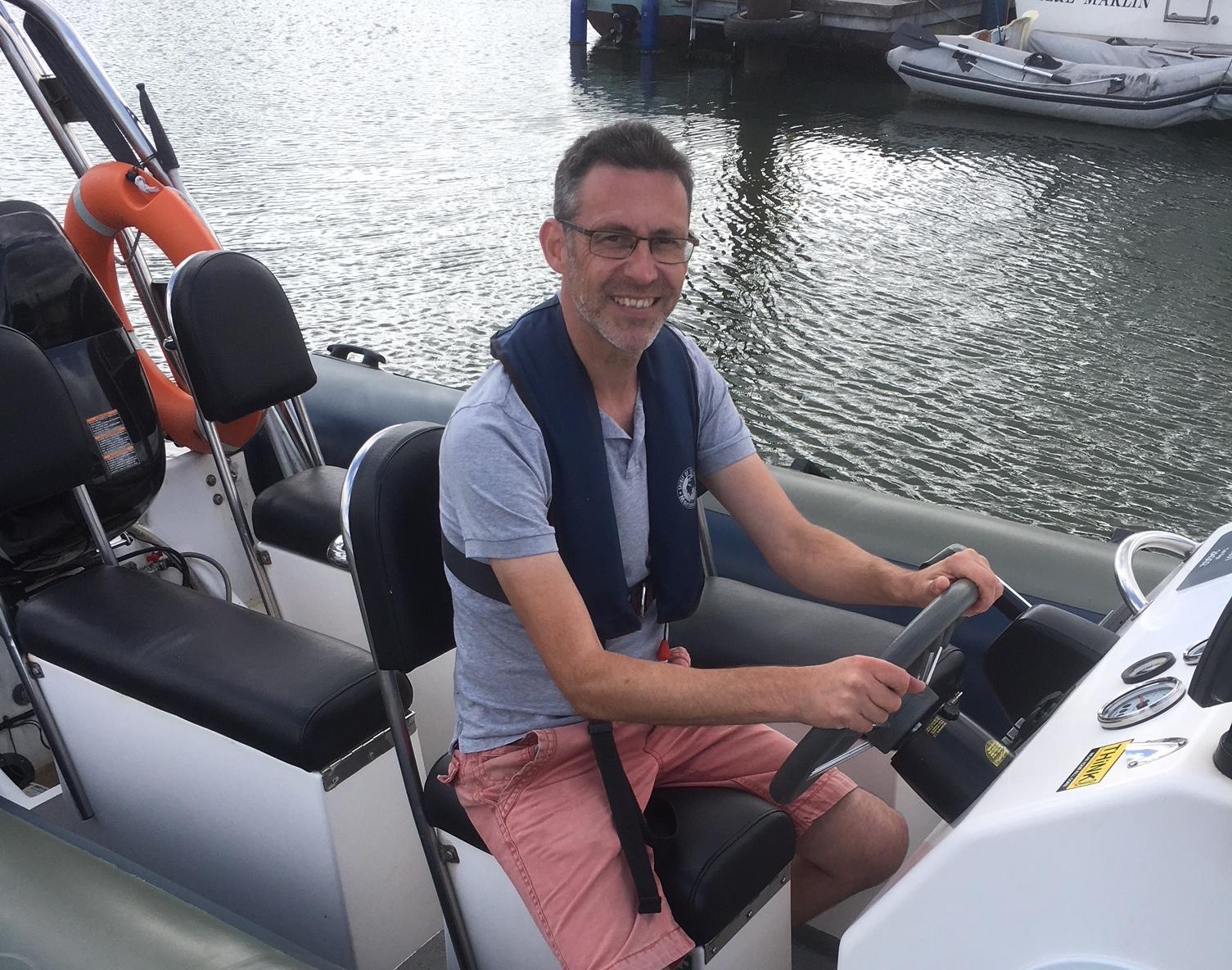 Boat training RIB