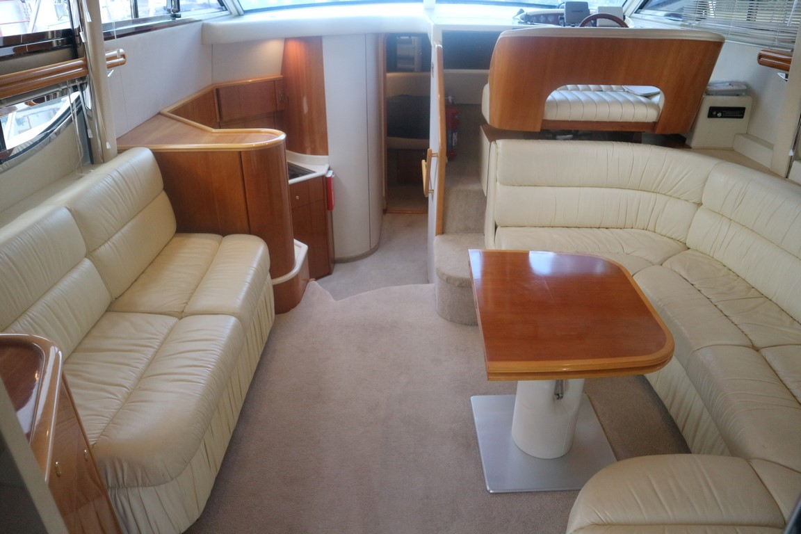 upper deck space on the princess 420
