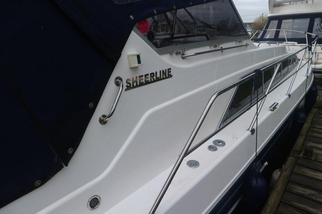 Sheerline 950 Aft Cockpit For Sale Image 14